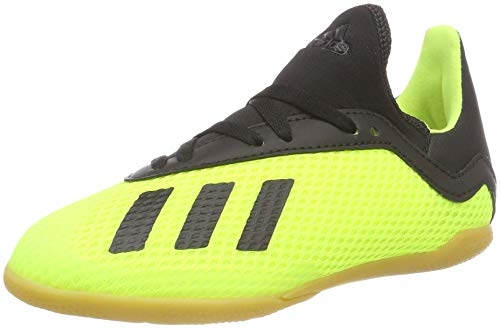 adidas X Tango 18.3 In J, Zapatillas de Fútbol Niños, Amarillo (Solar Yellow/Core Black/Solar Yellow 0), 30 EU