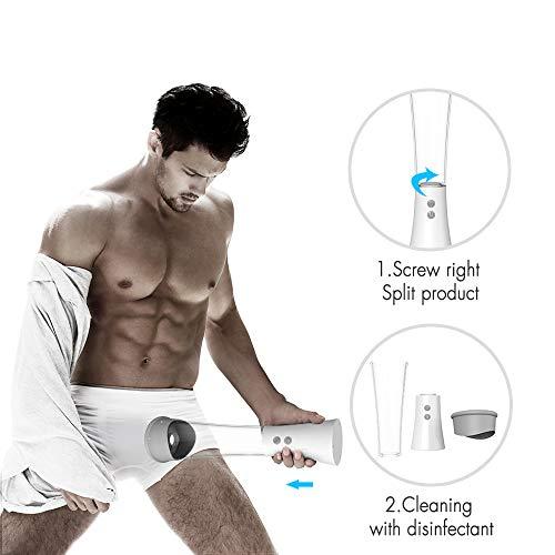 Abnehmbare elektrische Massage-Vakuum-Massagegerät-Werkzeuge Männlich Training Enhancer Erweiterung Gerät