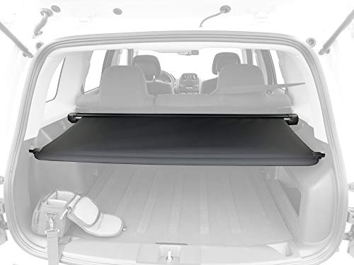 Tyger Auto Factory-Style Black Retractable Trunk Cargo Cover Compatible with 14-17 Jeep Patriot
