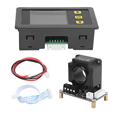 Medidor de Coulomb, voltaje de corriente, potencia, multifuncional, medición digital, prueba, coulómetro para medir el voltaje, número AH