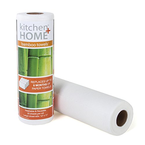 Bamboo Towels - Heavy Duty Machine Washable Reusable Rayon...