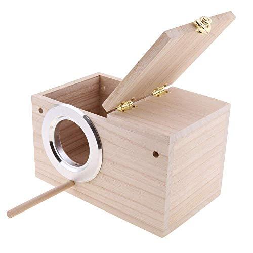 PINVNBY Parakeet Nest Box Bird Hous…