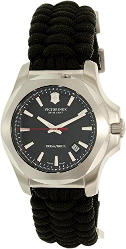 Victorinox I.N.O.X. Swiss Army–Reloj de Pulsera para Hombre analógico de Cuarzo Textil 241726.1