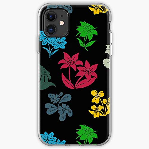 Pretty Cute Summer Green Floral Flower Spring Nature | Phone Case for iPhone 11, iPhone 11 Pro, iPhone XR, iPhone 7/8 / SE 2020