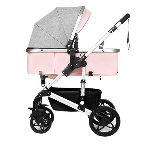Poussettes Bébé, Pliant Léger Amortisseur Enfants Pousser des Chariots De Bébé Infantile Trolley Sit Ou Lie