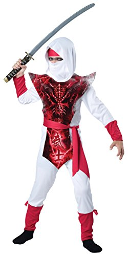 Ghost Ninja Costume - Large