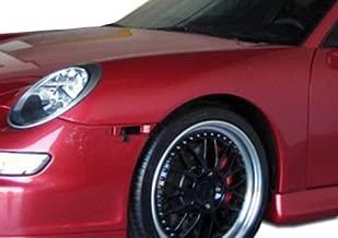 Extreme Dimensions Duraflex Replacement for 1999-2004 Porsche 911 Carrera 996 1997-2004 Porsche Boxster 997 GT-3 RS Conversion Fenders - 2 Piece