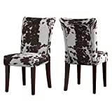 Union 5 Home Vichy Brown Print Parsons Dining Side Chair - Set of 2