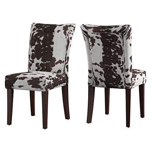 Union 5 Home Vichy Brown Print Parsons Dining Side Chair - Set of...