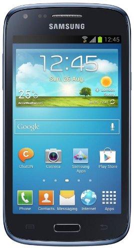 "Samsung Galaxy Core (GT-I8260) - Smartphone libre Android (pantalla 4.3"", cámara 5 Mp, 8 GB, Dual-Core 1.2 GHz, 1 GB RAM, WiFi), azul [importado]"