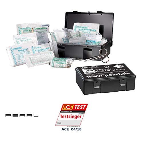 PEARL Notfallset: 2er-Set Marken-KFZ-Verbandkasten Plus, geprüft nach DIN 13164 (Kfz Verbandskasten)
