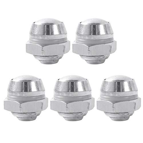 TiaoBug Edelstahl Ventil Schnellkochtopf Ersatzteil Rustfrei Schraube Durchmesser 14mm Silber One Size