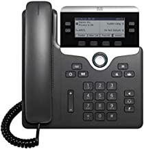 $59 » Cisco 7841 IP Phone with Multiplatform Firmware (CP-7841-3PCC-K9) (Power Supply Not Included) - Renewed