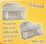myshopx (47) Fensterheber Reparatursatz 2Stück vorne Links für Audi A4/B5, Skoda SUPERB/2STÜCK Links