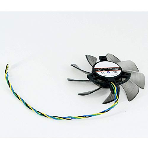 Price comparison product image E-Meoly FirstD DC Brushless FD9015U12S 85mm 12V 0.55A For Sapphire HD7770 77501G GDDR5 R7 260X 2G GDDR5 Graphics Card Fan 4pin 39x39x39mm