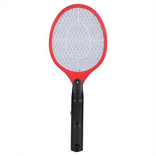 Unbekannt Elektrische Käfer Zapper Schnurlose Batterie Power Fly Zapper Schläger Schädlinge Insekten Killer Mückenklatsche Fliegenwanzen Klatscher für Indoor Outdoor