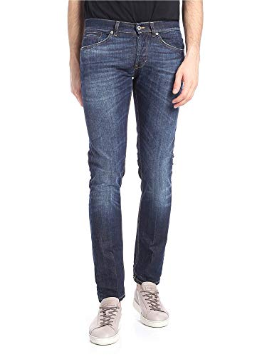 DONDUP Luxury Fashion Uomo UP232DS0050S96T800 Blu Jeans   Stagione Outlet