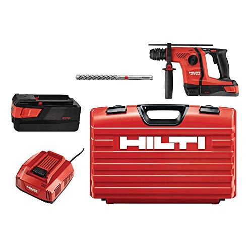 Hilti 36-Volt B36/5.2 Lithium-Ion 1/2 in. SDS Plus Cordless Rotary Hammer TE 6-A36 Industrial PKG