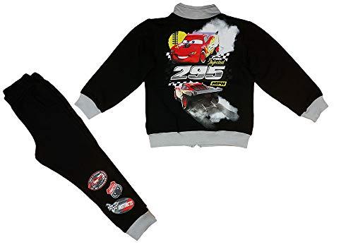 Disney Cars strój rekreacyjny dla chłopców, 2-częściowy zestaw spodni, spodnie chłopięce, kurtka ciepła, na jesień, zimę, idealny w rozmiarach 92 98 104 110 116 122 128 dla małych dzieci