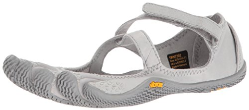Vibram Five Fingers Women's V-Soul Fitness and Cross Training Yoga Shoe (43 EU/10-10.5, Silver)