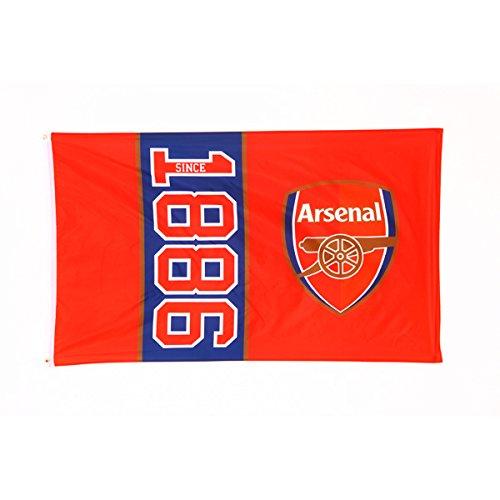 Arsenal FC Since Date of Establishment 5 ft x 3 ft Body Flag