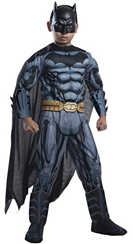 Rubie's Costume DC Superheroes Batman Child Deluxe Costume, Medium