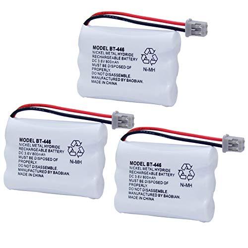 BAOBIAN BT-446 BT446 BT-504 BT-1004 BT-1005 Cordless Phone Battery...