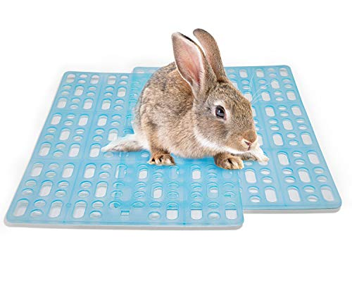 Niteangel 2 Pieces Rabbit Playpen Feet Mats for Cage, Comes...