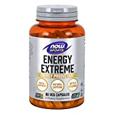 NOW Sports Nutrition, Sports Energy Extreme with B Vitamins and other cofactors such as Chromium, Magnesium Malate and Carnitine, 90 Capsules