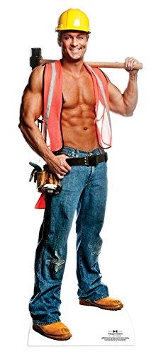 Star Cutouts Pappaufsteller Billy der Bauarbeiter