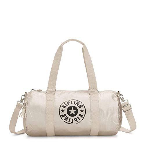 Kipling ONALO Tasche Freizeit und Sportwear Damen Silber (CLOUD METAL C), One