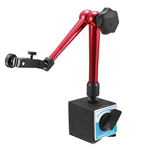 HELEISH Universelles flexibles Magnetfußhalter-Ständerwerkzeug for Messuhrenprüfhöhe 350mm Hilfsmittel