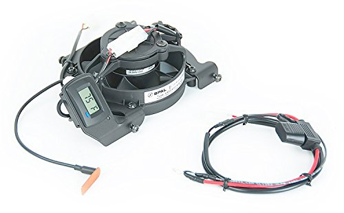Trail Tech 732-FN4 TTV Temperature Switching Digital Radiator Fan Kit