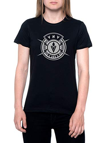 VNV The Nation T-Shirt Damen Schwarz T-Shirt Women's Black