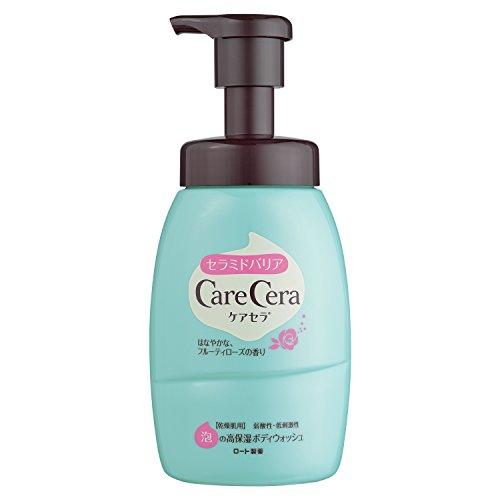 ケアセラ (CareCera) 高保湿ボディウォッシュ フルーティローズの香り 450mL