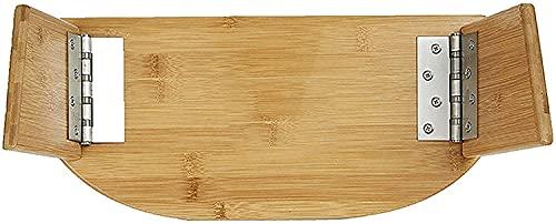 KAXO Banco de Meditación Original, Banco de Meditación Plegable Silla de Arrodillamiento de la Silla de Arrodillamiento, Taburete de Yoga de Bambú con Bolsa de Viaje. Vuelta de Viaje Banco de Meditac