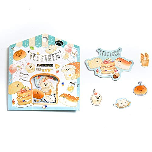 Kawaii Animal collection Decorative Stickers Scrapbooking Stick Label Diary Stationery Album cute Penguin Shiba Inu bear sticker