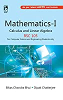 Mathematics-I Calculus and Linear Algebra (BSC-105) (For Computer Science & Engineering Students only)