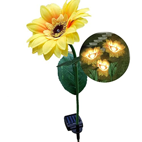 Solar Powered Illumination Sunflower