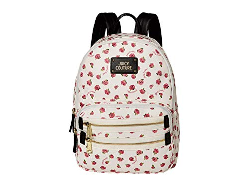 Juicy Couture Neon Lights Backpack White/Ditsy Rose One Size