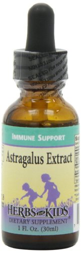 Herbs for Kids Astragalus Extract Liquid, 1 Ounce