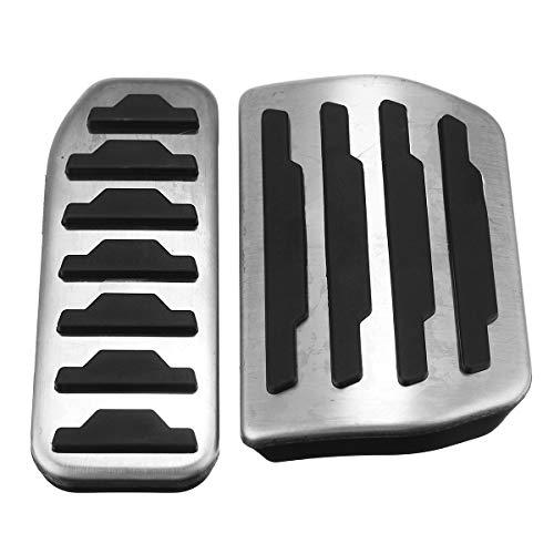 Wooya Frein À Gaz De Carburant De Voiture Pédale Pad Couvercle pour Range Rover Evoque 2011-2016