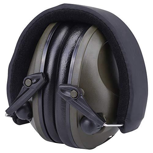 WanRomJun 1 Unid Ejército Verde Activo Activo Reducción Orejeras Auriculares Ear Defensores Protección Auditiva Orejeras