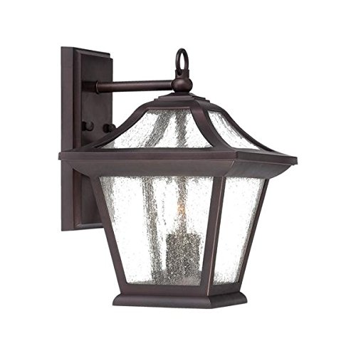 Acclaim 39012ABZ Aiken Collection 2-Light Wall Mount Outdoor Light Fixture, Architectural Bronze