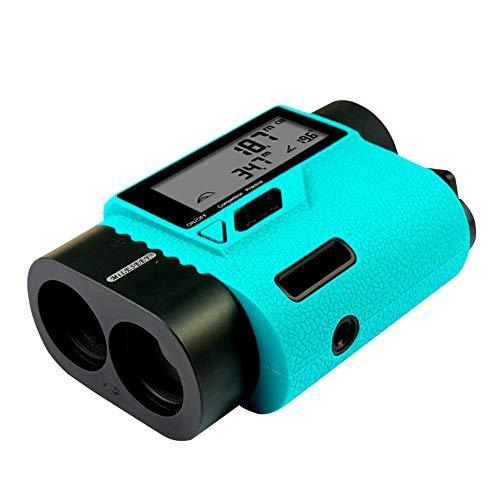 TZH Laser-Entfernungsmesser, Multifunktions Tragbarer Digital Display Golf Entfernungsmesser, Teleskop, 6fach optisches Zoom, Geeignet für Außen Golf, Fernmess