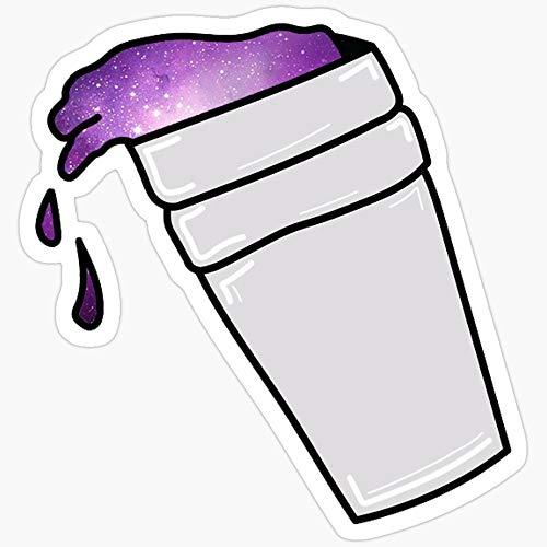 Deangelo Lean Cup Galaxy Sticker, 3 Stück