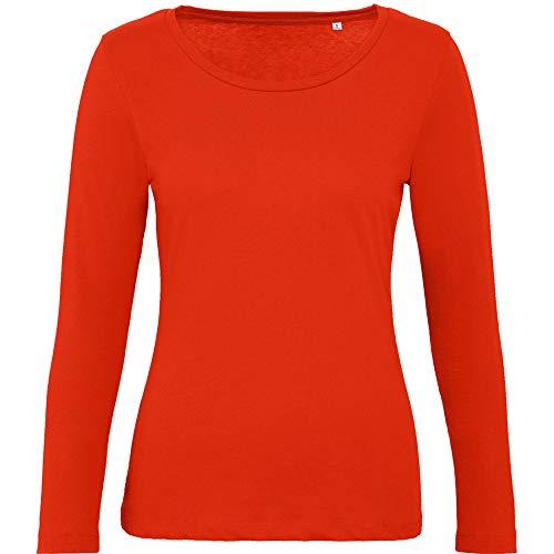 B&C dames T-shirt met lange mouwen Inspire