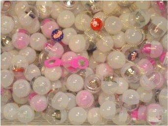 25 Stück gefüllte Kapseln K7 mit Spielzeug ideal als Mitgebsel für Kindergeburtstag oder für Automaten