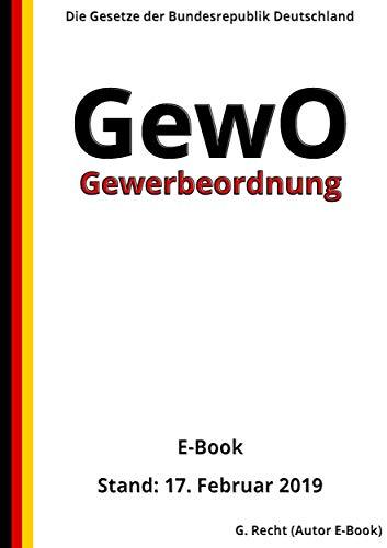 Gewerbeordnung - GewO, 3. Auflage 2019