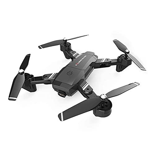 Drone S6, Drone Pieghevole con Doppia Fotocamera 720P/1080P/4K Ultra HD, Drone Altezza Mantenimento WiFi FPV Trasmissione in Tempo Reale Quadricottero RC, Seguimi, Controllo Gestuale, Perfetto per Pri